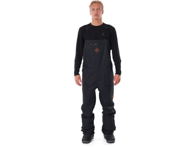 Rip Curl Taipan Bib Pants Heren, black